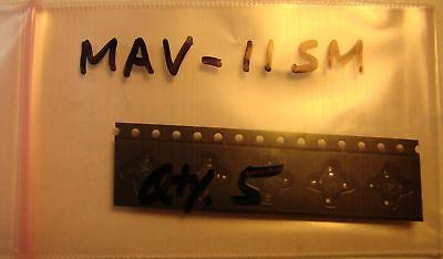 Mini-circuits 50mhz-1ghz Mmic Amp Mav-11sm New Qty.5