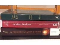 Law Text books and revision guides
