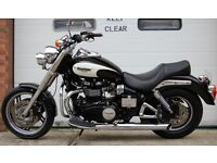 2011 TRIUMPH SPEED MASTER 865 BLACK/WHITE