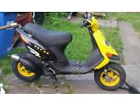 Gilera skp stalker 50cc moped. Aerox sym jet neos jog r speedfight piaggio nrg zip typhoon