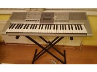 Yamaha PSR-295 61 Key Keyboard with Stand £40 ONO