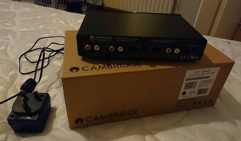 Cambridge CP2 Phono Pre Amp 5 Months old