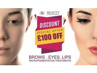 Experienced Permanent Makeup Artist in Glasgow City Centre (Special Offer available till end of May)