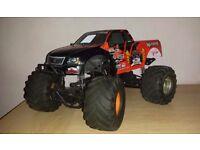 HPI Nitro Monster King Radio Control 4x4 Monster Truck