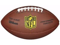 Wilson The Duke Replica NFL Professional Club Level Composite American Football.......New