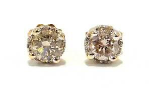 10ct Yellow Gold Diamond Stud Pierced $595-228596