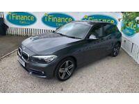 CAN'T GET CREDIT? CALL US! BMW 116d 1.5 TD Sport (s/s), 2016, Manual - £200 DEPOSIT, £87 PER WEEK