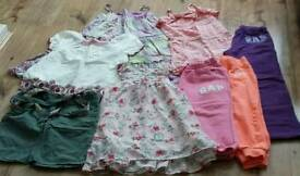 Girls summer clothing bundle age 10 & 10-11 yrs
