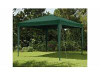 Home 3m x 3m Pop up Garden Gazebo - Green A- (4784)