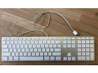 Apple Keyboard with Numeric Keypad - Silver