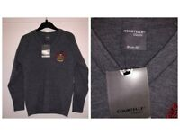 """BRAND NEW 32"""" BLUE COAT JUMPER WITH TAGS JUST £6"""