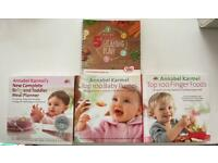 Baby weaning- cook books.