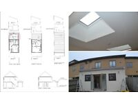 HOUSE DESIGN & PLANS *** Extension and Loft Conversion *** ONLY £599
