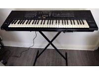Technics SX-KN800 Electronic PCM Keyboard with stand