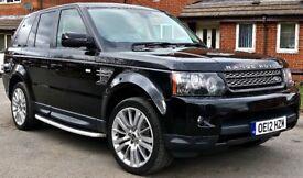 BARGAIN! 2012 Land Rover Range Rover Sport 3.0 SD V6 HSE (Luxury Pack) 4X4 5dr X5 Q7