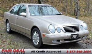 2001 Mercedes-Benz E-Class 4Matic: Fully Loaded/Sunroof/Leather/
