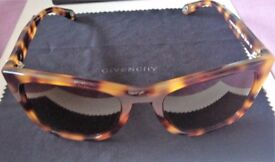 BRAND NEW, CASED GIVENCHY TORTOISESHELL SUNGLASSES, NOW REDUCED!
