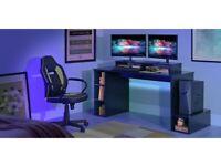 Home Gaming Desk - Black A