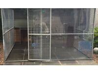 XL Dog run with roof see pictures