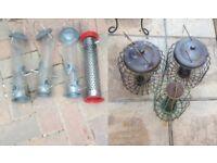 7x bird feeders