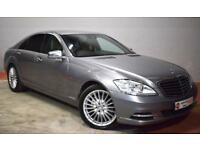 MERCEDES-BENZ S CLASS 3.0 S350 CDI BLUEEFFICIENCY 4d 235 BHP (silver) 2010
