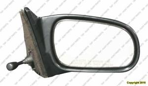Door Mirror Manual Passenger Side Sedan Honda Civic 1996-2000