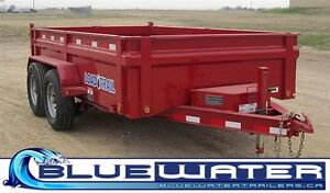 2016 Load Trail Tandem Axle Low-Pro Dump Trailer - $144/month London Ontario image 1