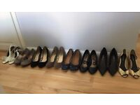 8 Pairs of shoes