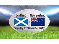 SCOTLAND V NEW ZEALAND