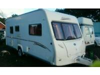 2006 Bailey vermont 2 berth With large end bathroom also a fitted motor-mover