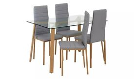 FREE DELIVERY BRAND NEW Helena Dining Chairs Grey / Gray (OFFERS Accepted) URGENT