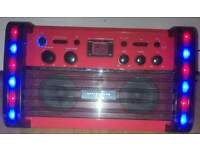 Easy Karaoke EK212 Karaoke Machine with Lights for sale in liverpool
