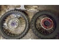 Cr 85 small wheel conversion 2005