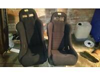2 OMP Bucket Seats