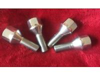 Non-locking bolts 12mm x 1.25