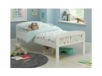 Brand New Jesse White Toddler Bed Frame No707/3676