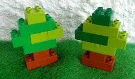 Lego Duplo Trees