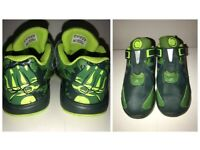 *HARD TO FIND* BOYS UK SIZE 1 ADIDAS HULK TRAINERS - VERY GOOD CONDITION