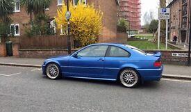 BMW e46 330 ci Clubsport - Estoril Blue. Not M3