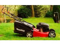 Lawnmower. Mountfield S461PD PowerDrive. Cutting width 46cm. 4 years old, excellent condition.