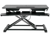 Proper AV Sit-Stand 2 Tier Workstation - Black No835/9045 (1368)
