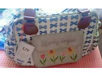 Baby Girl Changing Bag Pink Lining