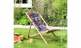Habitat Wooden Deck Chair - Global Market