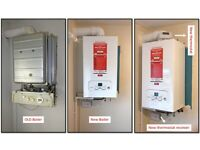 Gas engineer for new boiler install, service and repair, landlord gas safety check, Cooker install