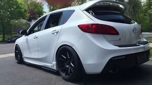"18"" 720 gtf2 with super sports mazdaspeed 3"