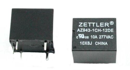 American Zettler AZ943-1CH-12DE Relay - Lot of 5 ( 28B120 )