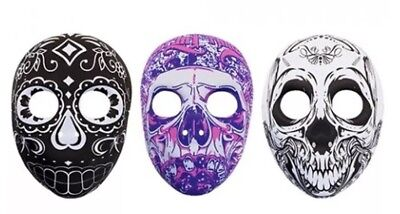 NEW DAY OF THE DEAD Halloween Face Mask Felt Fancy Dress Accessory Senorita - UK (Day Of The Dead Halloween Faces)