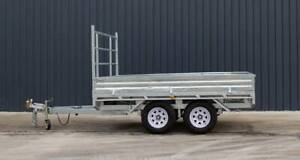 10x7 3.5Tonne Flat Top Trailer FULLY GALVANISED Moss Vale Bowral Area Preview