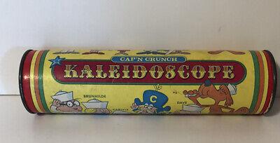Vintage Cap'n Crunch Kaleidoscope, Cereal Premium, 1970's