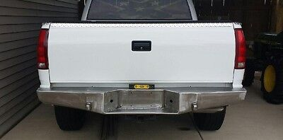 Chevy GMC Truck 1500 2500 Rear Bumper 88-98' Tow Points Logansmetal4x4 USA